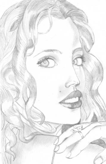 Estella Warren by fabdulogie